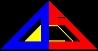総合情報通信技術研究機関 ADS シンボル(ロゴ・マーク) トライベスト by カワヴェリ