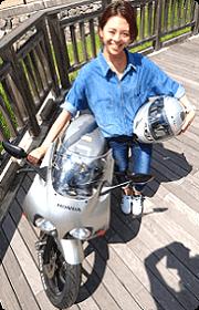 原付ツーリングクラブ モナミ イメージモデル 鈴木美沙子 スチールショット 06