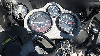HONDA NS-1 時計、 電圧計を追加