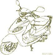 原付ツーリング キムコ・スーナー50