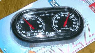 Fizz 気温計・湿度計 / サーモメーター・ハイグロメーター