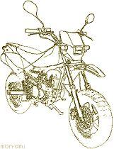 原付ツーリング ホンダ・XR50