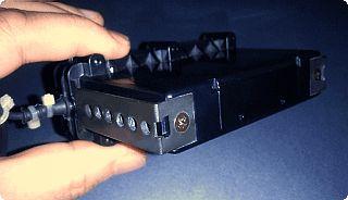ユピテル セパレート型レーダー探知機 RJ-72 受信部 外観 2